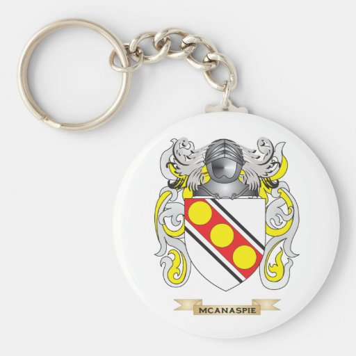 McAnaspie Coat of Arms (Family Crest) Key Chains