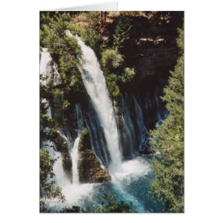 McArthur-Burney Falls Card
