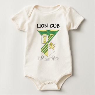 McAuley High School Coat of Arms Baby Bodysuits
