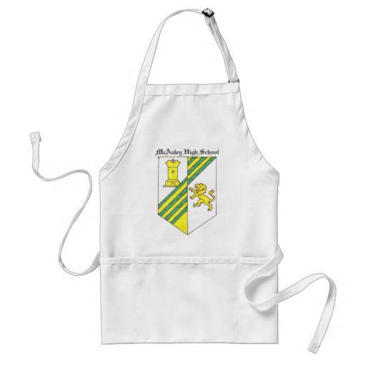 McAuley High School Crest Aprons