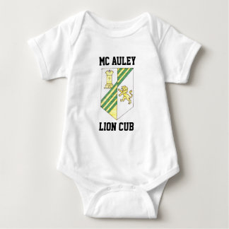 McAuley High School Crest Baby Bodysuit
