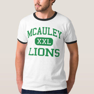 McAuley - Lions - High School - Portland Maine T-Shirt
