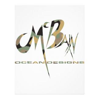 McBain Ocean Designs Green Cammo Flyer Design