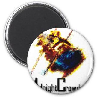mcburned 6 cm round magnet