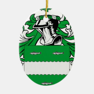 McCabe Coat of Arms Ceramic Oval Decoration
