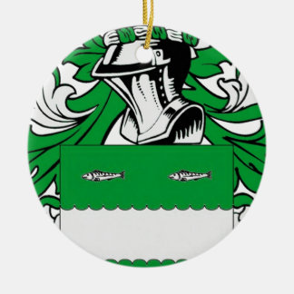 McCabe Coat of Arms Christmas Tree Ornament