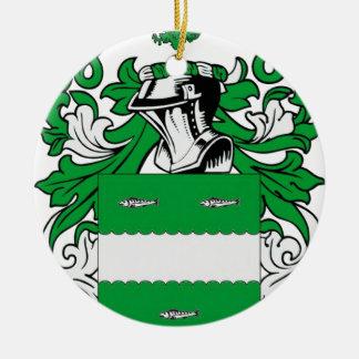 McCabe Coat of Arms Round Ceramic Decoration