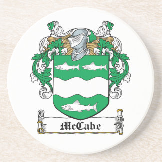 McCabe Family Crest Coasters