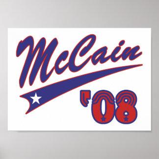 McCain 08 Swoosh Poster