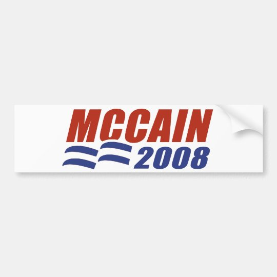 McCain 2008 Bumper Sticker