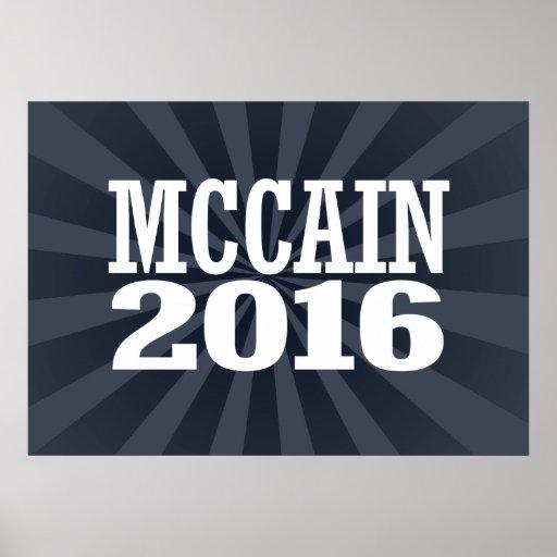 MCCAIN 2016 PRINT