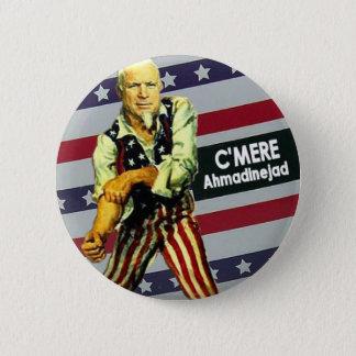 McCain / Ahmadinejad Button