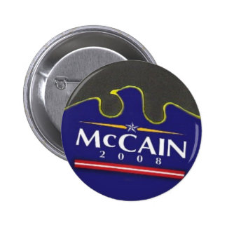 McCain Blue Eagle Button