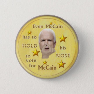 McCain ? Button