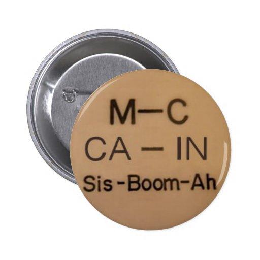 McCain Cheer Button