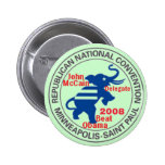 McCAIN Convention anti OBAMA Button