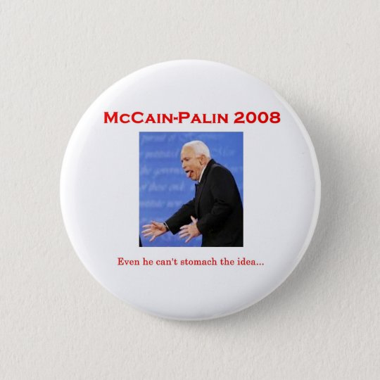 McCain Debate Monster Button
