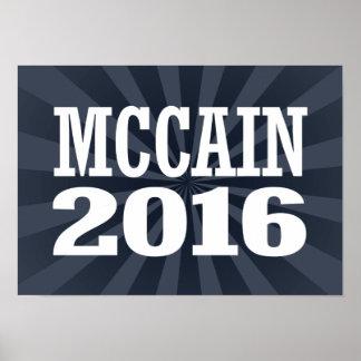 McCain for Senate 2016 Poster