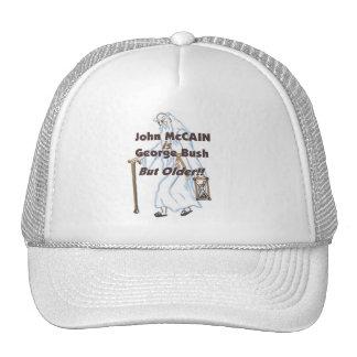 McCain Is Bush But Older Hat