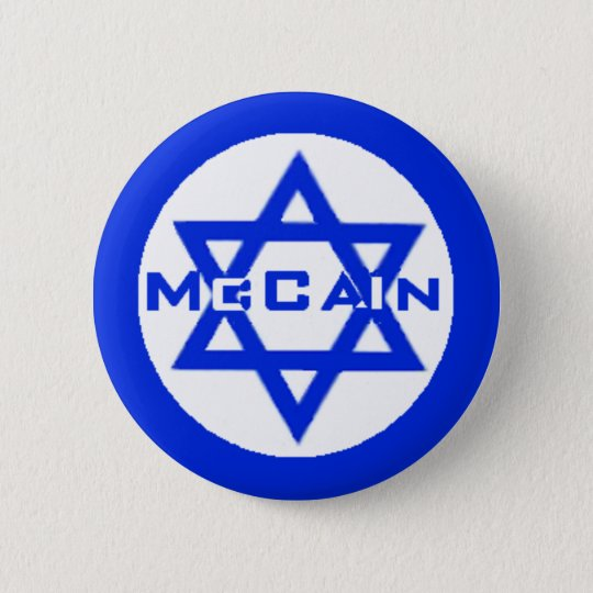 McCain JEWISH Button