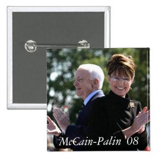 McCain-Palin 08 Buttons