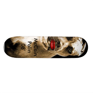 McCain Palin 08 Skate Board
