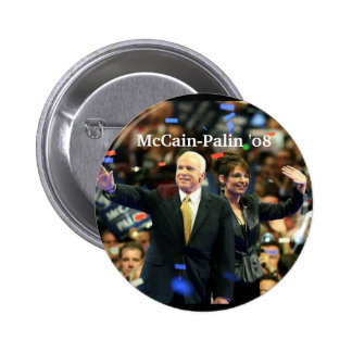 McCain-Palin 08 Vote for our fut - Customized Pin