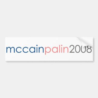 McCain Palin 2008 Car Bumper Sticker