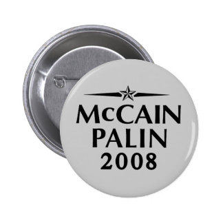 McCain Palin 2008 Button
