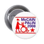 McCain Palin 2008 Buttons