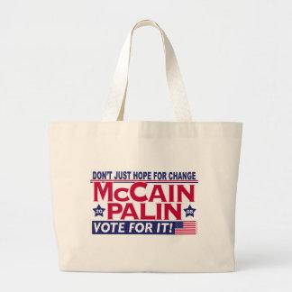McCain Palin 2008 Jumbo Tote Bag