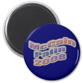 mccain palin 2008 fridge magnet