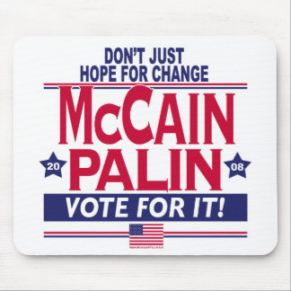 McCain Palin 2008 Mouse Pad
