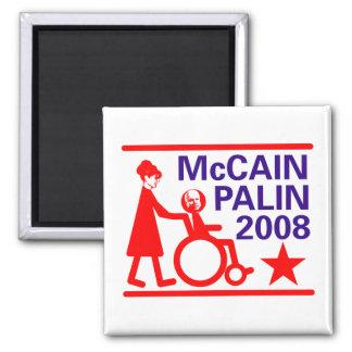 McCain Palin 2008 Square Magnet