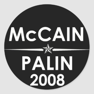 McCain - Palin 2008 Sticker