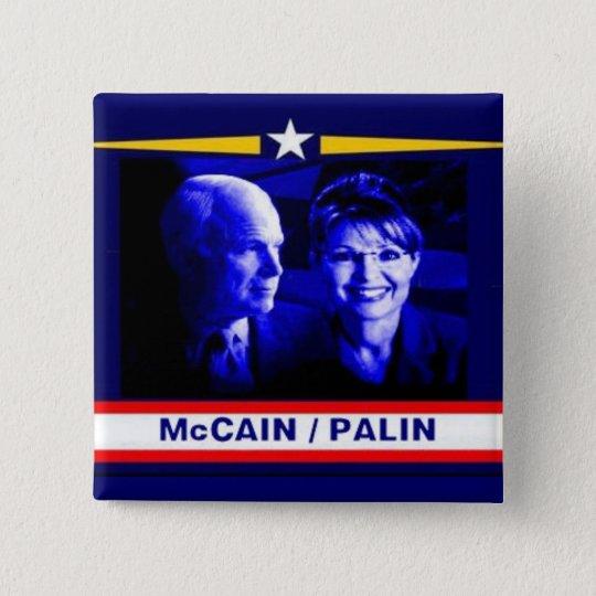 McCain / Palin Bluetone Button