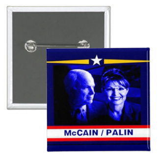 McCain / Palin Bluetone Button