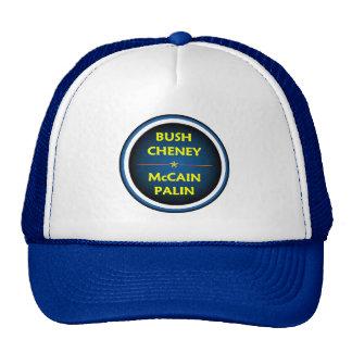 McCain Palin BUSH Hat
