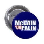 McCain Palin Buttons