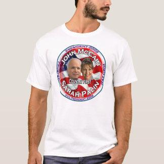 McCain Palin Country First T-Shirt