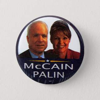 McCain-Palin jugate - Button