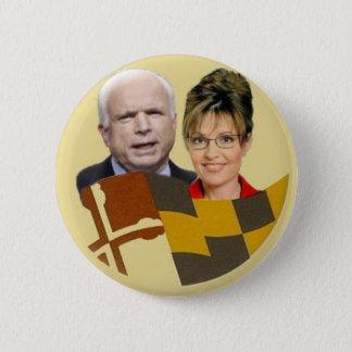 McCain / Palin Maryland Button