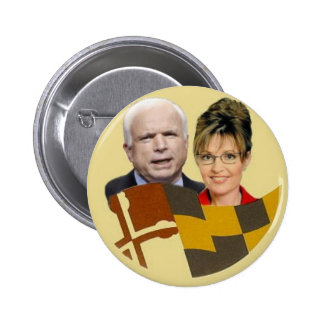 McCain / Palin Maryland Button