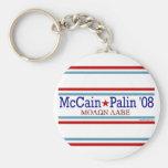 McCain Palin Molon Labe Keychain