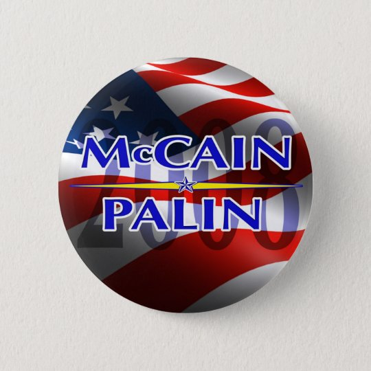 Mccain Palin pin