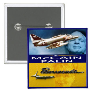McCain/Palin Square Button