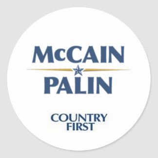 Mccain/Palin Sticker