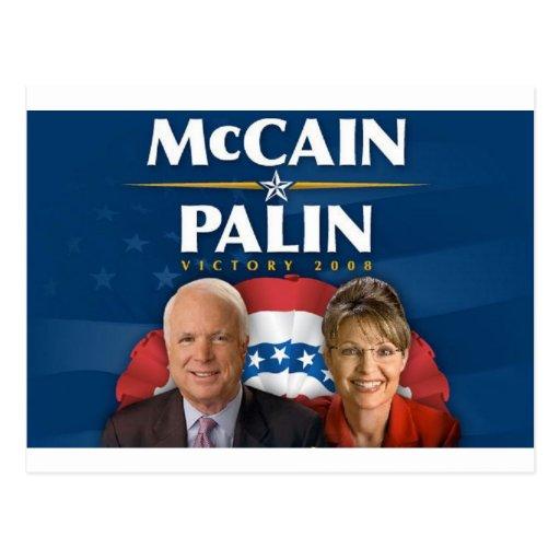 McCain-Palin Victory 2008 Postcard