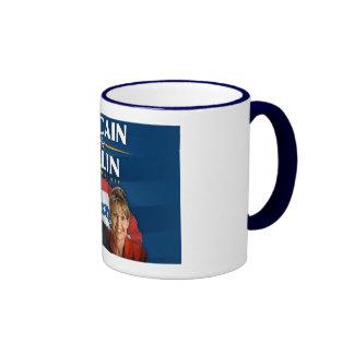 McCain-Palin Victory 2008 Ringer Mug
