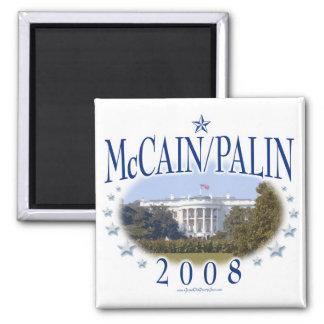 McCain Palin White House 2008 Magnet